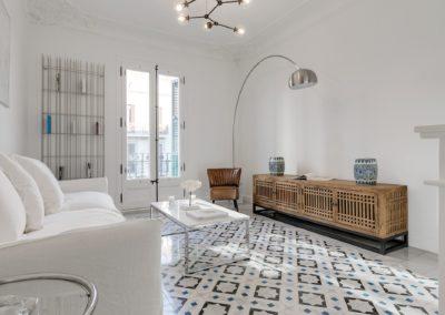 diseño interiorismo modernista estilo