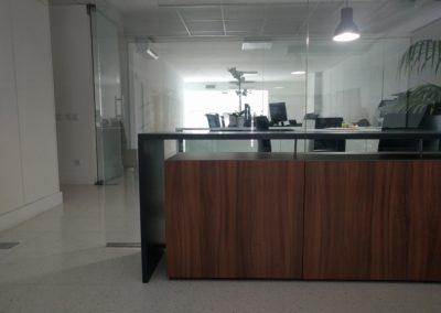 diseño oficina internacional interiorismo