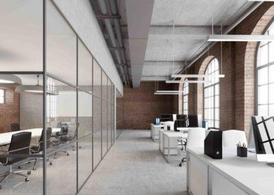 reforma interiorismo oficina estilo