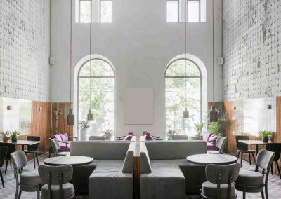 reforma cafetería tradicional restauración