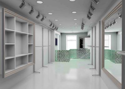 Reforma Salon belleza moderno