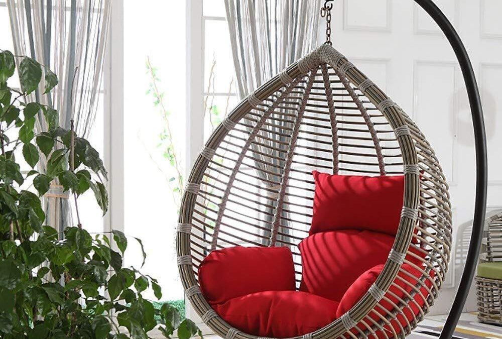 10 sillas colgantes para tu jardín o terraza