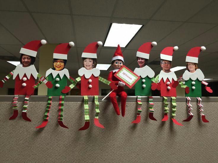 Decoración navideña oficinas