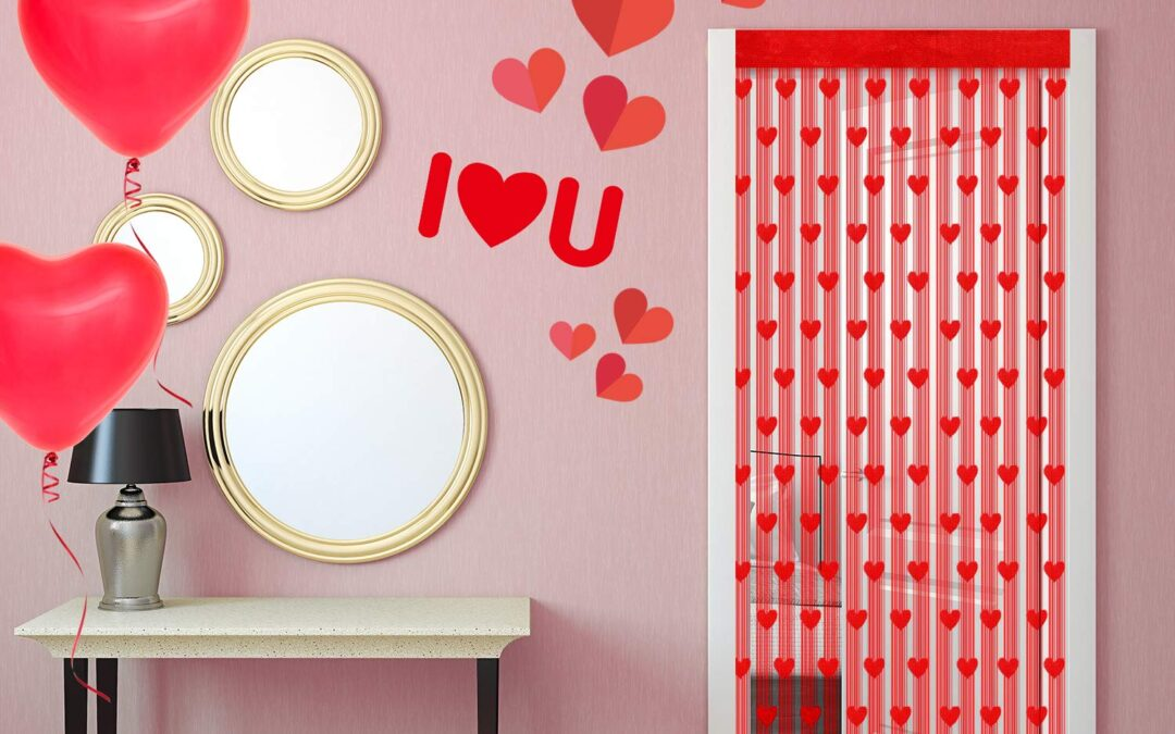 Ideas para decorar en San Valentín: restaurantes y escaparates.