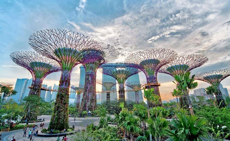 Construcción sostenible: 7 estructuras con jardines verticales
